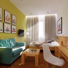 Гостиница Сити Стар в Москве 1 отзыв об отеле, цены и фото номеров - забронировать гостиницу Сити Стар онлайн Москва комната для гостей фото 2