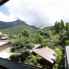 Отель Yufuin Nobiru Sansou Хидзи балкон