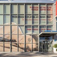 Отель Ibis Valencia Palacio de Congresos Испания, Валенсия - отзывы, цены и фото номеров - забронировать отель Ibis Valencia Palacio de Congresos онлайн вид на фасад