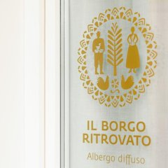 Отель Il Borgo Ritrovato - Albergo Diffuso Бернальда ванная фото 2