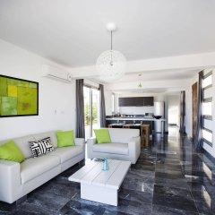 Отель Paradise Cove Luxurious Beach Villas Кипр, Пафос - отзывы, цены и фото номеров - забронировать отель Paradise Cove Luxurious Beach Villas онлайн комната для гостей фото 3