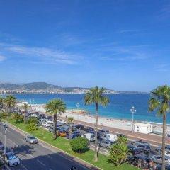 Отель Les Yuccas Promenade des Anglais пляж