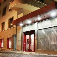 Отель Re Di Roma Рим вид на фасад
