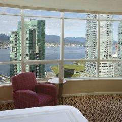 Отель Vancouver Marriott Pinnacle Downtown Hotel Канада, Ванкувер - отзывы, цены и фото номеров - забронировать отель Vancouver Marriott Pinnacle Downtown Hotel онлайн фото 3