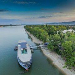 Отель Aquamarina Hotel Венгрия, Будапешт - 2 отзыва об отеле, цены и фото номеров - забронировать отель Aquamarina Hotel онлайн приотельная территория фото 2