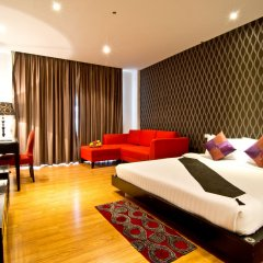 Отель Glitz Бангкок комната для гостей фото 2