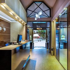 Отель Aegeon Hotel Греция, Салоники - 4 отзыва об отеле, цены и фото номеров - забронировать отель Aegeon Hotel онлайн интерьер отеля фото 3