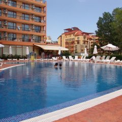 Отель Happy Sunny Beach Болгария, Солнечный берег - отзывы, цены и фото номеров - забронировать отель Happy Sunny Beach онлайн бассейн