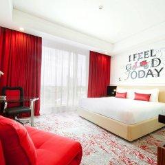 Отель Cinnamon RED Colombo Шри-Ланка, Коломбо - отзывы, цены и фото номеров - забронировать отель Cinnamon RED Colombo онлайн комната для гостей фото 3