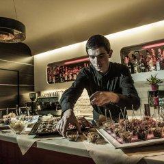 Отель Arli Business And Wellness Бергамо питание