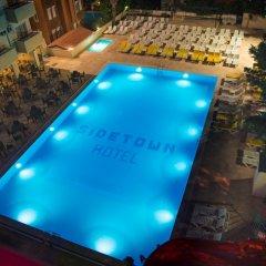 Side Town Hotel by Z Hotels Турция, Сиде - 1 отзыв об отеле, цены и фото номеров - забронировать отель Side Town Hotel by Z Hotels - All Inclusive онлайн бассейн фото 2