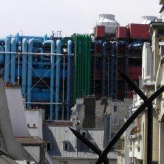 Отель Hôtel du Vieux Marais балкон
