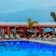 Отель Limanaki Beach Hotel Кипр, Айя-Напа - 1 отзыв об отеле, цены и фото номеров - забронировать отель Limanaki Beach Hotel онлайн бассейн