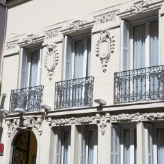 Hotel les Cigales балкон