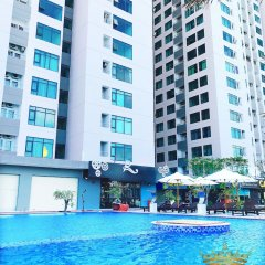Отель 999 CONDOTEL Muong Thanh Vien Trieu Нячанг бассейн