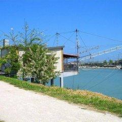 Отель Villa Lauda Италия, Римини - отзывы, цены и фото номеров - забронировать отель Villa Lauda онлайн приотельная территория фото 2