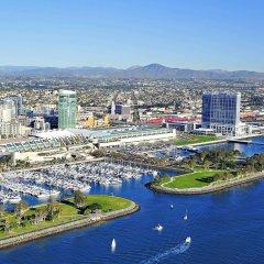 Отель Hilton San Diego Bayfront спортивное сооружение