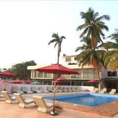 Отель Tivoli Garden Ikoyi Waterfront Нигерия, Лагос - отзывы, цены и фото номеров - забронировать отель Tivoli Garden Ikoyi Waterfront онлайн бассейн фото 3