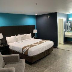 Отель Quality Inn Near Hollywood Walk of Fame США, Лос-Анджелес - 1 отзыв об отеле, цены и фото номеров - забронировать отель Quality Inn Near Hollywood Walk of Fame онлайн комната для гостей фото 4