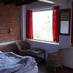 Отель at the End of the Universe Непал, Нагаркот - отзывы, цены и фото номеров - забронировать отель at the End of the Universe онлайн комната для гостей фото 3
