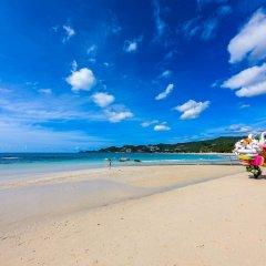 Отель Chaweng Garden Beach Resort Таиланд, Самуи - 1 отзыв об отеле, цены и фото номеров - забронировать отель Chaweng Garden Beach Resort онлайн пляж фото 2