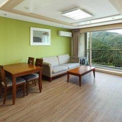 Отель Hanwha Resort Pyeongchang Южная Корея, Пхёнчан - отзывы, цены и фото номеров - забронировать отель Hanwha Resort Pyeongchang онлайн комната для гостей фото 3