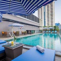 Отель Well Hotel Bangkok Таиланд, Бангкок - отзывы, цены и фото номеров - забронировать отель Well Hotel Bangkok онлайн бассейн фото 2