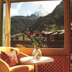 Отель Metropol & Spa Zermatt Швейцария, Церматт - отзывы, цены и фото номеров - забронировать отель Metropol & Spa Zermatt онлайн балкон