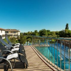 Отель Atlantic Terme Natural Spa & Hotel Италия, Абано-Терме - отзывы, цены и фото номеров - забронировать отель Atlantic Terme Natural Spa & Hotel онлайн приотельная территория