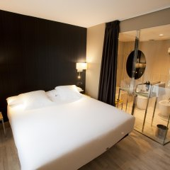 Отель Plaza Испания, Ла-Корунья - отзывы, цены и фото номеров - забронировать отель Plaza онлайн комната для гостей фото 4