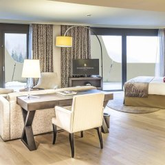 Отель InterContinental Davos Швейцария, Давос - отзывы, цены и фото номеров - забронировать отель InterContinental Davos онлайн комната для гостей фото 2