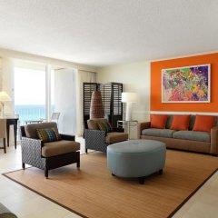 Отель Hilton Rose Hall Resort & Spa - All Inclusive Ямайка, Монтего-Бей - отзывы, цены и фото номеров - забронировать отель Hilton Rose Hall Resort & Spa - All Inclusive онлайн комната для гостей фото 2