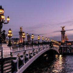 Отель Etoile Trocadero Париж приотельная территория