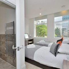 Отель Canal Street Apartments Великобритания, Манчестер - отзывы, цены и фото номеров - забронировать отель Canal Street Apartments онлайн ванная