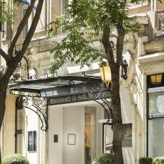 Renaissance Paris Hotel Le Parc Trocadero вид на фасад фото 2