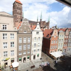 Отель Apartamenty Gdańsk - Apartament Długa II Гданьск балкон