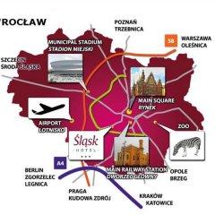 Отель Śląsk Польша, Вроцлав - отзывы, цены и фото номеров - забронировать отель Śląsk онлайн городской автобус