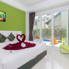 Отель The Frutta Boutique Patong Beach 3* Стандартный номер с различными типами кроватей фото 4