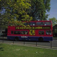 Отель Novotel London Paddington городской автобус