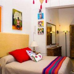 Отель Casona Tlaquepaque Temazcal y Spa комната для гостей фото 4