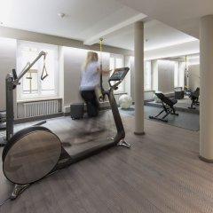 Отель Schweizerhof Zürich фитнесс-зал фото 2