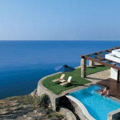 Отель Grand Resort Lagonissi пляж