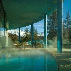 Carlton Hotel St Moritz бассейн