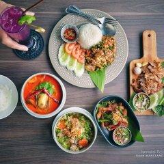 Отель Baan Wanglang Riverside питание