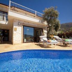 Villa Nes Турция, Калкан - отзывы, цены и фото номеров - забронировать отель Villa Nes онлайн бассейн фото 3