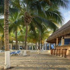 Отель Occidental Costa Cancún All Inclusive Мексика, Канкун - 12 отзывов об отеле, цены и фото номеров - забронировать отель Occidental Costa Cancún All Inclusive онлайн пляж