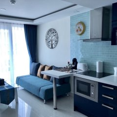 Апартаменты Luxury Apartments in Grand Avenue Паттайя в номере фото 2