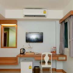 Отель Zen Rooms Ratchaprarop Бангкок сейф в номере