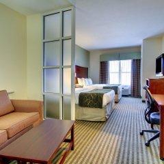Отель Comfort Suites Vicksburg комната для гостей фото 5