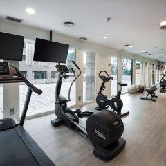Отель NH Madrid Barajas Airport фитнесс-зал